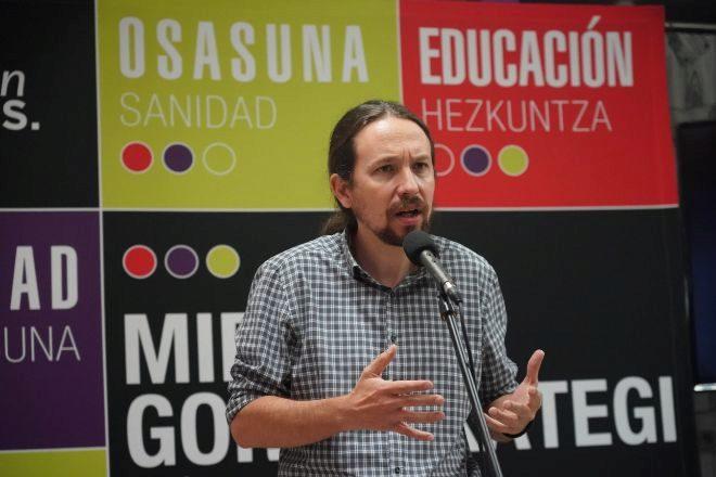 El secretario general de Podemos y vicepresidente segundo del Gobierno y ministro de Derechos Sociales y para la Agenda 2.030, Pablo Iglesias.