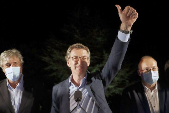 El PP repite mayoría absoluta en Galicia y el BNG da el 'sorpasso' al PSdeG