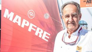 Sanz, durante una presentación de la Copa del Rey Mapfre. | LAURA G....