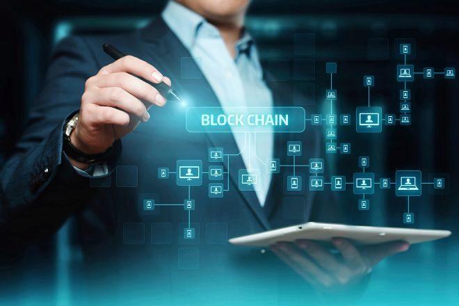Recreación de la tecnología blockchain