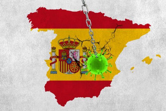 Funcas prevé que la economía española se contraiga un 9,8% este año