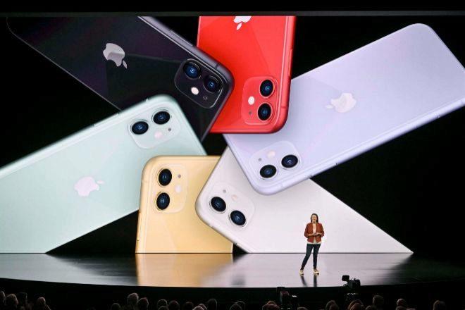 Presentación de modelos de iPhone