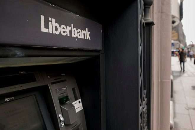Imagen de un cajero de Liberbank