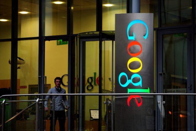 Foto de archivo de la sede de Google en Irlanda