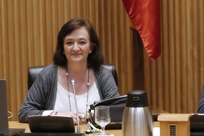 La presidenta de la Autoridad Independiente de Responsabilidad Fiscal ( AIReF), Cristina Herrero.
