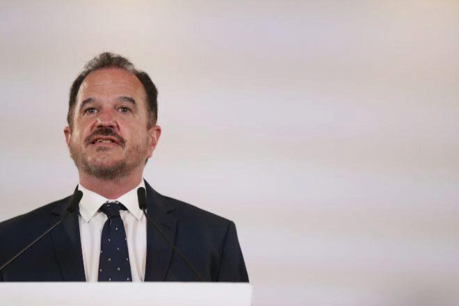El candidato a lehendakari por la coalición Partido Popular y Ciudadanos, Carlos Iturgaiz.
