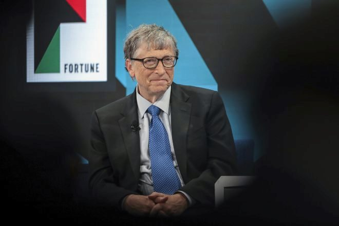 El cofundador de Microsoft Bill Gates.