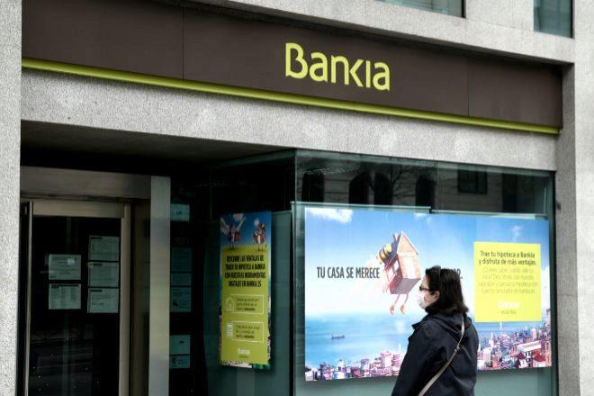 Sucursal de Bankia.