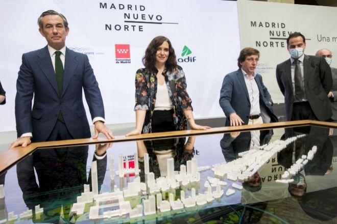 Las primeras viviendas de Madrid Nuevo Norte arrancarán en tres años