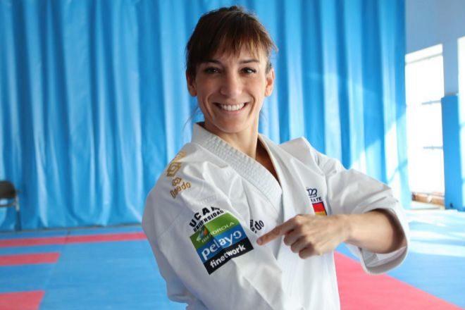 Sandra Sánchez, vigente campeona del mundo y número 1 del ranking de la Federación Mundial de Kárate.