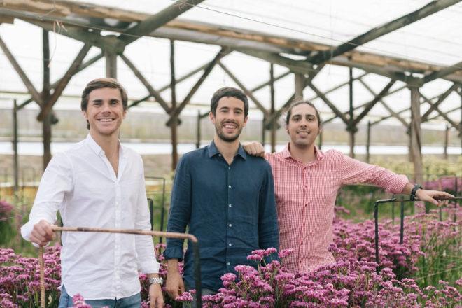 Sergi Bastardas, Andrés Cester y Marc Olmedillo, fundadores de Colvin.
