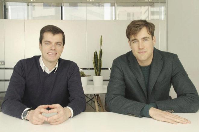 Pablo Linz y Jimmy Martínez von Korff, fundadores de Immfly.