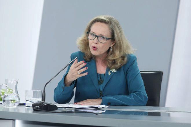 La vicepresidenta de Asuntos Económicos y Transformación Digital,...