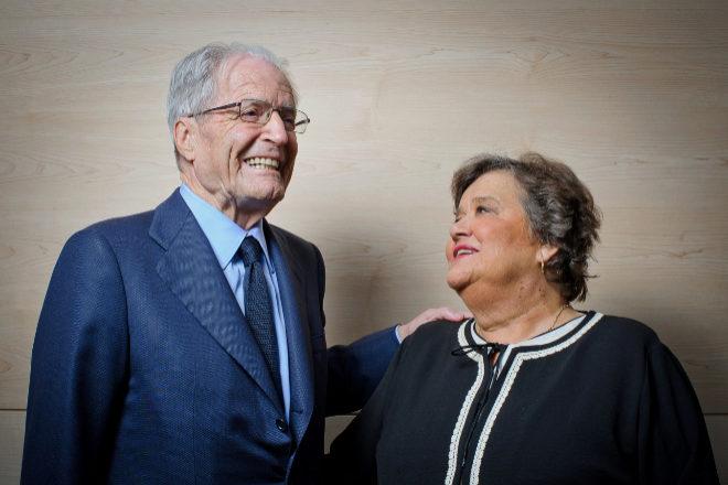 """Antonio Garrigues y Cristina Almeida: """"Muchas libertades dependen de nuestro trabajo"""""""