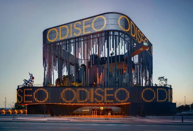 Odiseo tiene una superficie de 15.500 m2 y se presenta como un centro de ocio global.
