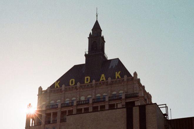 Kodak Tower, en la sede de Eastman Kodak en Rochester (Nueva York,...