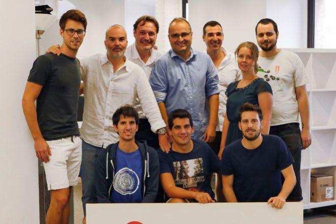 El equipo de Shopery, en una imagen facilitada por la compañía.