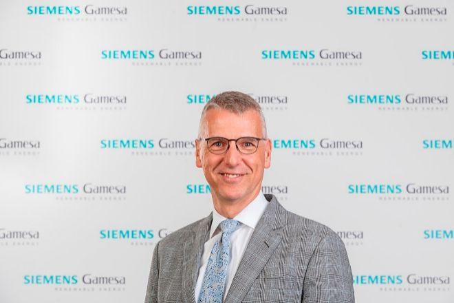 Andreas Nauen, consejero delegado de Siemens Gamesa.