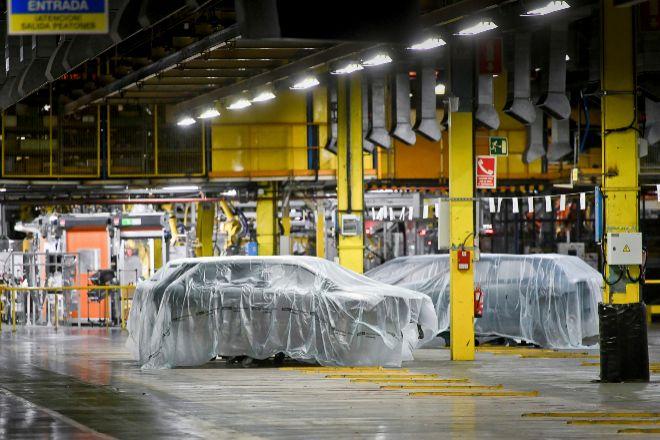 Fábrica de PSA Citroen en Villaverde, Madrid.