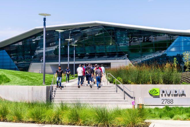 Sede de Nvidia en Santa Clara (California, Estados Unidos).