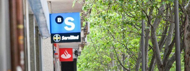 La banca ya vale en Bolsa menos de 70.000 millones, como Inditex o Iberdrola
