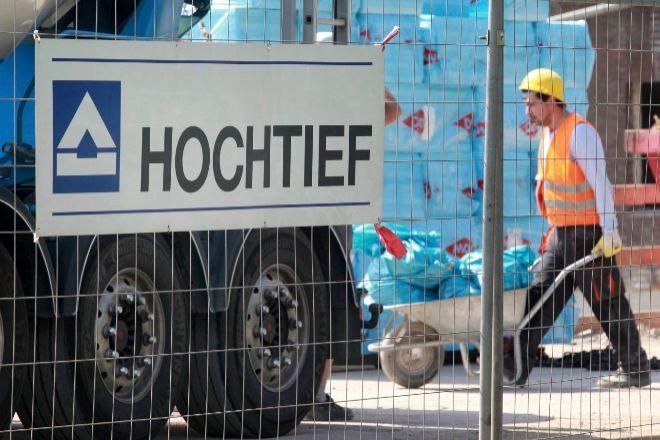 Obrero de Hochtief.