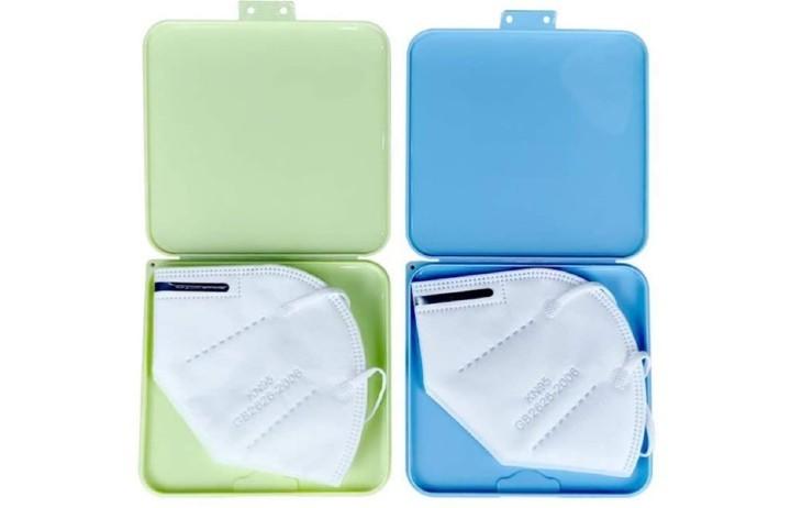 Sobres, bolsas de papel o estuches para guardar la mascarilla