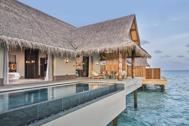 Villas privadas con servicio de hotel