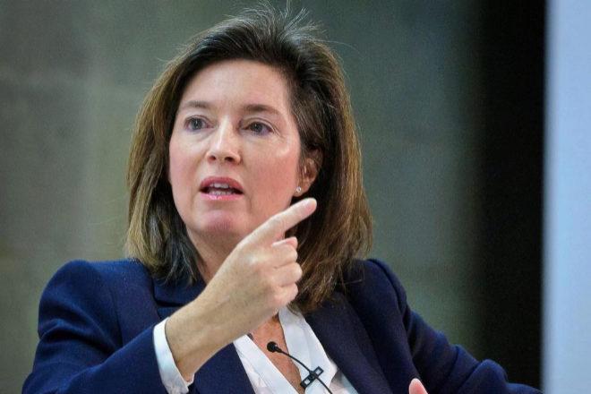 BBVA paga dos millones a Cristina de Parias tras su cese