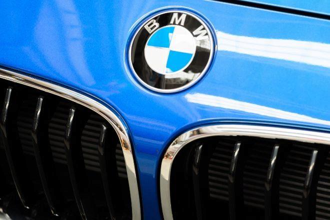 Frontal de un BMW