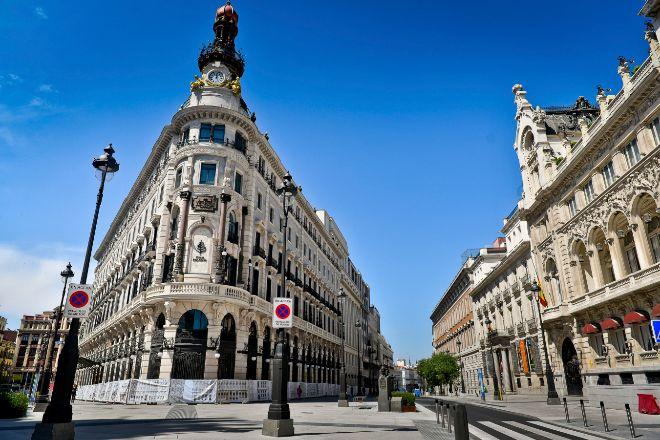 Complejo de Canalejas en el centro de Madrid, que OHL prev