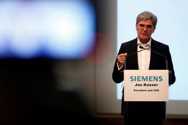 El presidente de Siemens, Joe Kaeser.