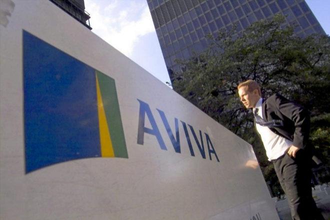 Logotipo de Aviva.