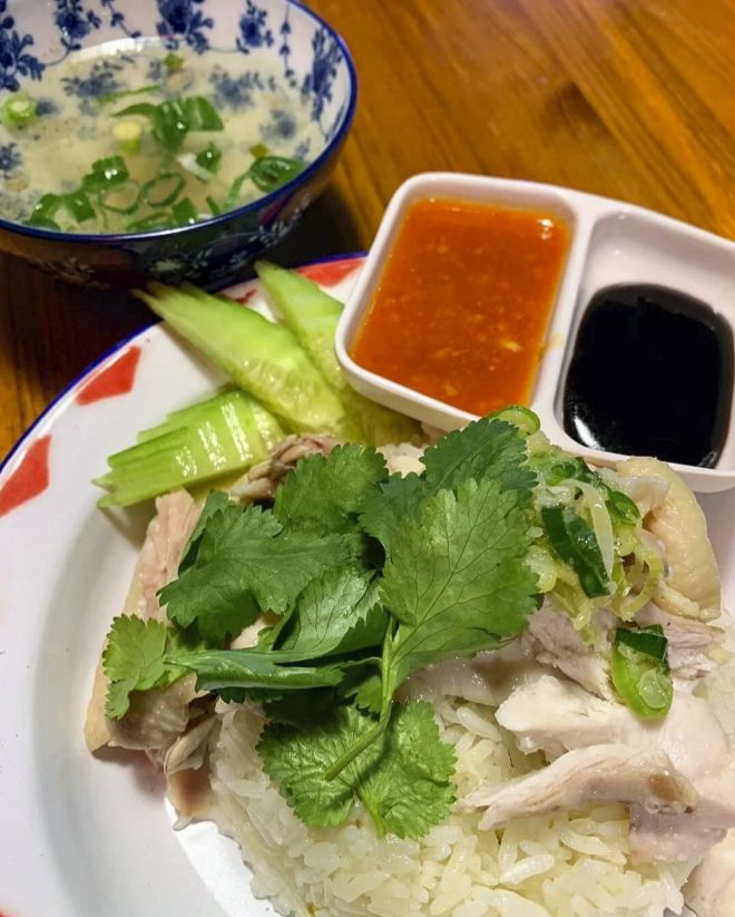 Asian Army. Hainan Chicken Rice