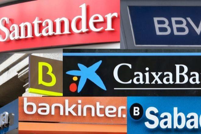 La crisis reduce un 72% el beneficio en España de la gran banca