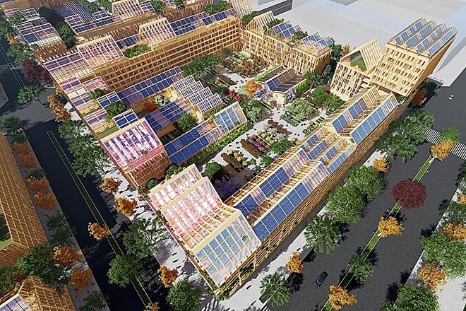 Una ciudad diseñada para un futuro pos-Covid