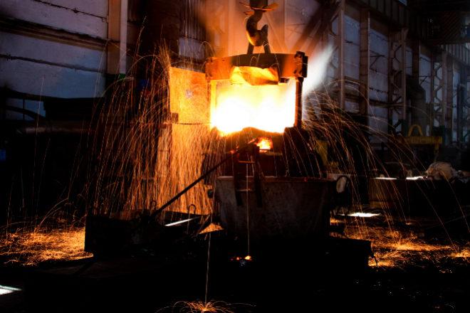 Instalaciones de la compañía siderúrgica Gerdau.