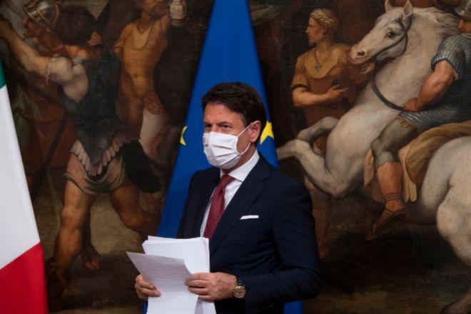 El primer ministro italiano Giuseppe Conte.
