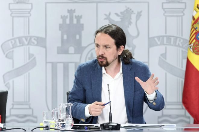 El vicepresidente segundo del Gobierno y ministro de Derechos Sociales y Agenda 2030, Pablo Iglesias.