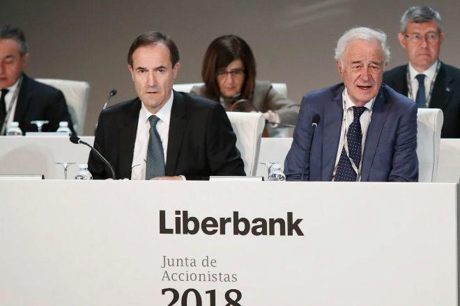 Liberbank continúa imparable en Bolsa y toca los 0,23 euros