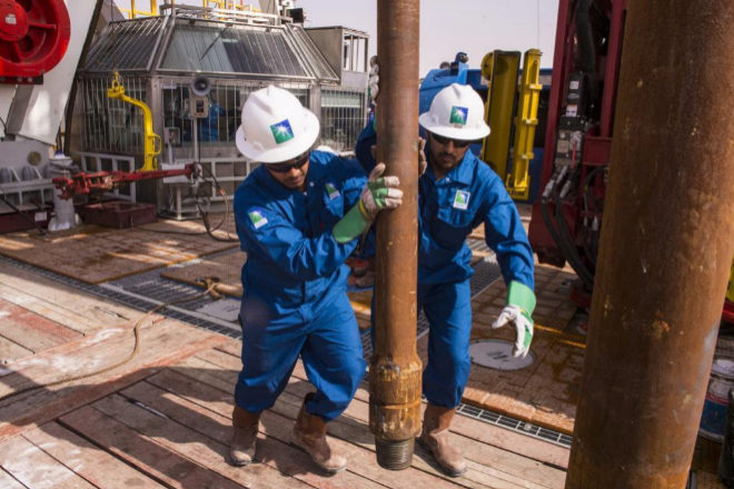 Aramco mantiene el dividendo anual pese al menor beneficio