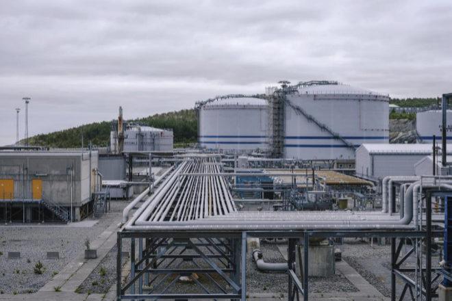 Instalaciones de la petrolera noruega Equinor.