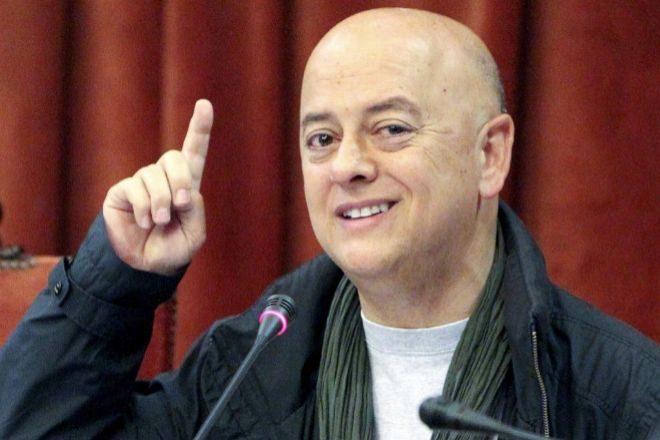 Una imagen de archivo de Odón Elorza en 2011 cuando era alcalde en funciones de San Sebastián.