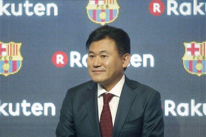 El presidente de Rakuten, Hiroshi Mikitani.