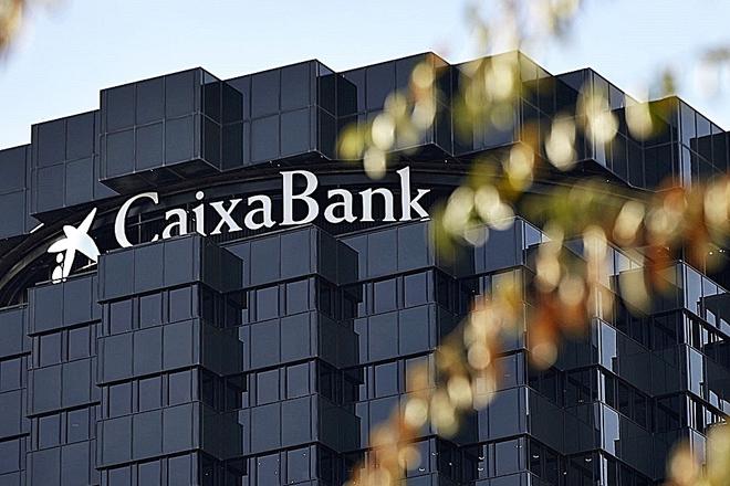 Sede corporativa de CaixaBank en Barcelona.