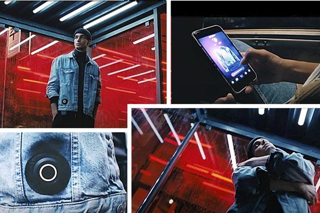 <strong>H&M.</strong>  La firma sueca lanza una cazadora que abraza a quien la lleva puesta. A través de una app, el propietario de la prenda autoriza a aquellos de sus contactos de los que quiere recibir esa muestra de cariño. Una tecnología con sensores y elementos táctiles lo hace posible.