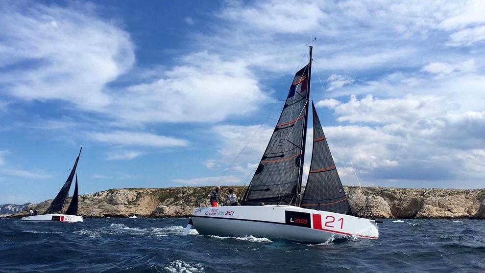 Monotipo L30, embarcación en la que se disputará el Europeo Mixto...