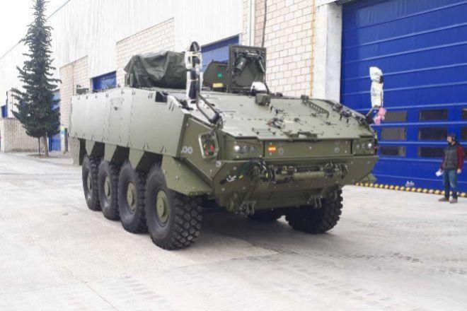 Prototipo de vehículo blindado.