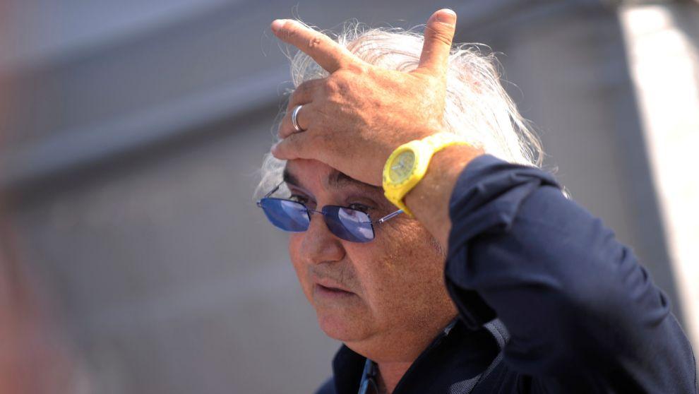Briatore, en el circuito de Monza en 2011. | REUTERS