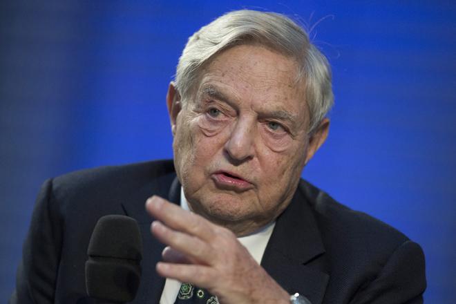 El hedge fund Soros Fund Management ha vuelto provisionalmente a sus raíces. En la foto, George Soros.